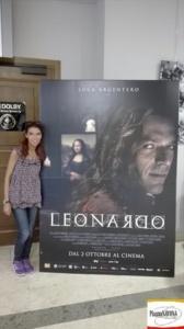 """Chiara Ricci all'anteprima stampa di """"Io, Leonardo"""" diretto da Jesus Garces Lambert"""