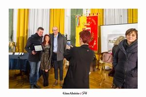 """Emanuele Grandi e Fabio Lanfiuti Baldi della Morphema Editrice al Premio Letterario Nazionale """"EquiLibri"""" edizione 2018"""