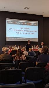 François Morlupi ottiene la menzione d'onore quale Miglior giallo dell'anno al prestigioso premio letterario internazionale Voci Città di Roma