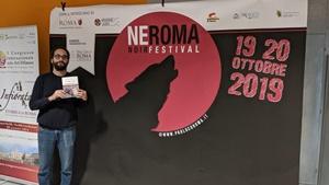 François Morlupi al NeRoma Noir Film Festival 2019