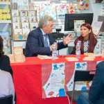 Il giornalista Vito Pinto e la scrittrice Chiara Ricci (Ph. Francesco Corrado)
