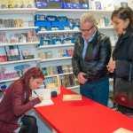 Firmacopie con la scrittrice Chiara Ricci (Ph. Francesco Corrado)
