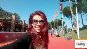 """La scrittrice Chiara Ricci della Rubrica online """"Piazza Navona"""" alla Festa del Cinema di Roma - #RFF14"""