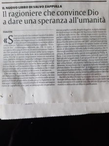 """Un articolo dedicato a """"Il violino di Dio"""" di Salvo Zappulla (Casa Editrice Scritturapura)"""
