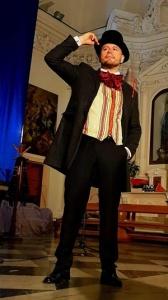 """Guido Mastroianni in """"Charles Dickens – L'uomo che inventò il Natale"""" (Per gentile concessione di Guido Mastroianni)"""