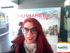 """Chiara Ricci all'anteprima stampa di """"Hammamet"""" di Gianni Amelio al Cinema Adriano di Roma"""