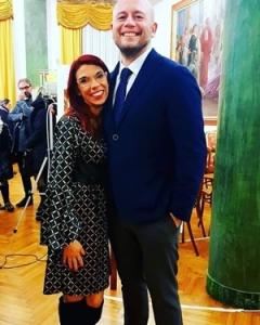 """Chiara Ricci e Guido Mastroianni alla Premiazione del Premio Letterario Nazionale """"EquiLibri"""" Edizione 2018"""