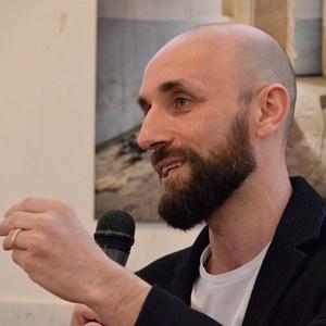 Lo scrittore Cristiano Martinelli