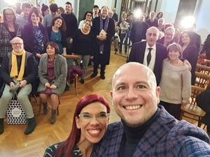 """Il selfie di saluto... alla prossima edizione del Premio Letterario Nazionale """"EquiLibri"""""""