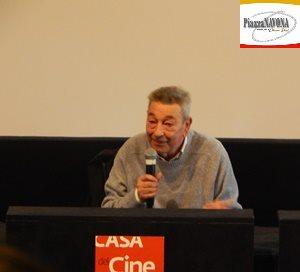 """Gianni Di Gregorio alla conferenza stampa de film """"Lontano lontano"""" - Roma, Casa del Cinema 13 febbraio 2020 (Ph. Chiara Ricci)"""