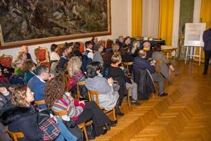 """Parte del pubblico presente alla Cerimonia di Premiazione del Premio Letterario Nazionale """"EquiLibri"""" Edizione 2019 - (Ph. Francesco Corrado)"""