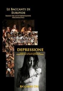 Alcune opere dello scrittore e semiologo Riccardo Dri