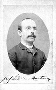 Lodovico Mortara, docente universitario di Diritto Costituzionale italiano e Ministro della Giustizia del Governo Nitti (23 giugno 1919 al 21 maggio 1920)