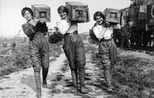 Le donne italiane durante la Prima Guerra Mondiale