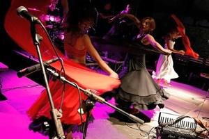 Le Ninfe della Tammorra in concerto (Per gentile concessione di Serena Della Monica)