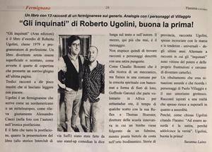 """Articolo dedicato a """"Gli inquinati"""" di Roberto Ugolini"""